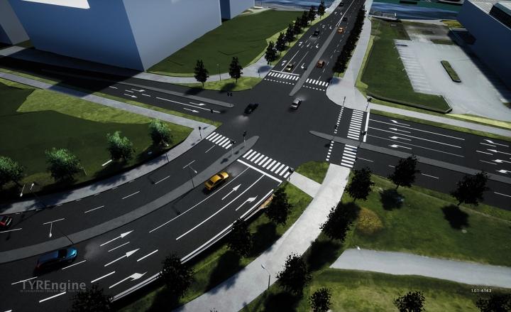 Gamla E4, väg 562, ska omvandlas från en tät genomfartsled till en stadsgata som knyter ihop stenstan med de nya bostadsområdena i hamnen.
