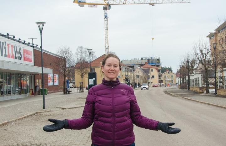 Linda Strid, marknadsutvecklare på Timrå kommun, ser att marknaden har vänt. – Det finns en helt annan efterfrågan på bostäder i Timrå i dag jämfört med för några år sedan, säger hon.