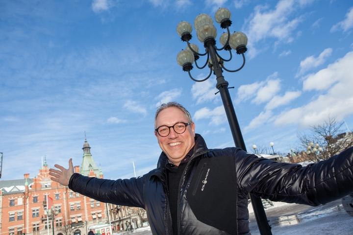 Jonas Albäcker menar att Sundsvall har goda förutsättningar för att skapa en mer levande stadskärna.