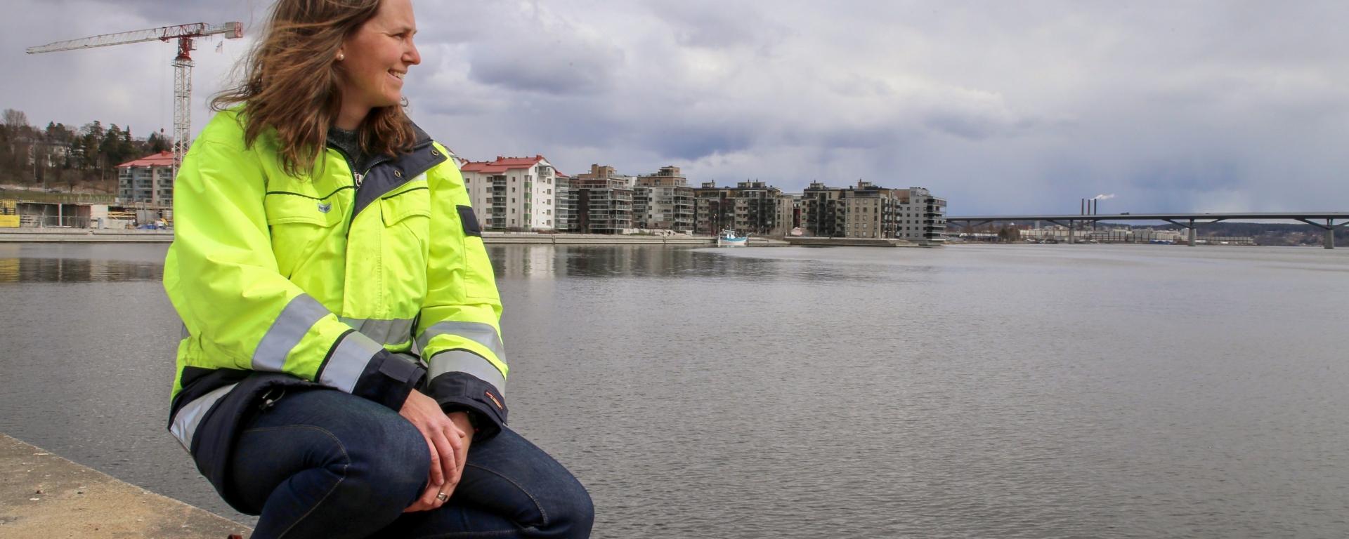 Bild av Malin Tuvesson vid Sundsvallsfjärden